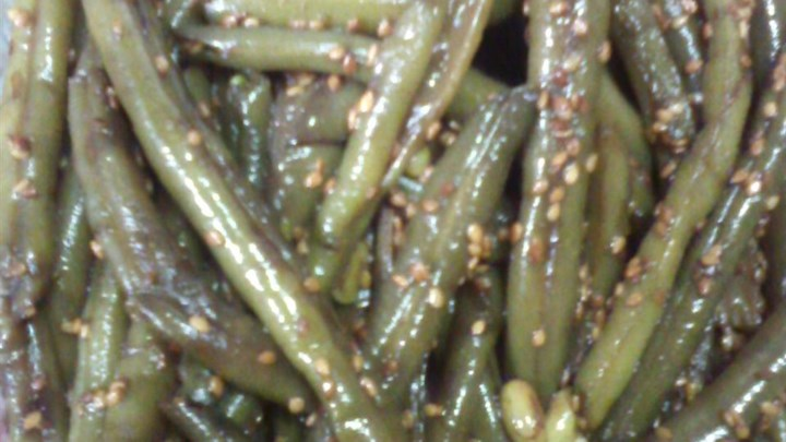 Sesame Seed Green Beans