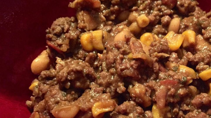 Venison-Bacon White Chili