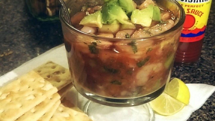 Authentic Mexican Shrimp Cocktail (Coctel de Camarones estilo Mexicano)