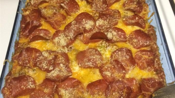 Pasghetti Pizza