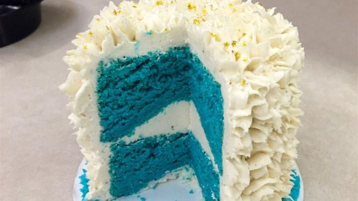 Blue Suede Cake