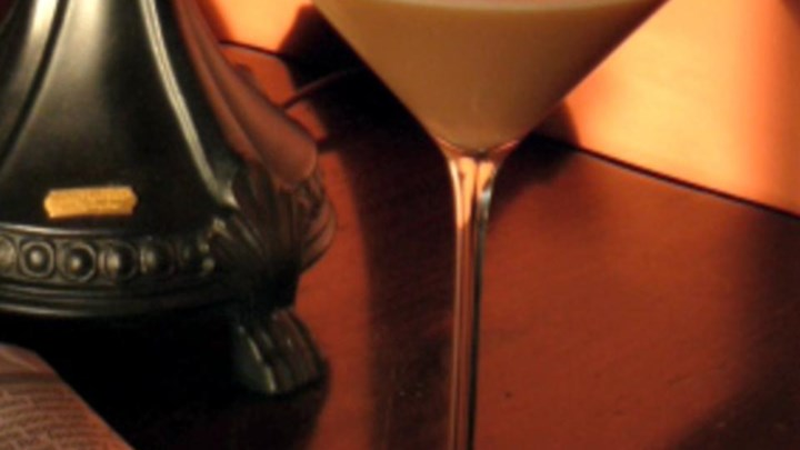 French Vanilla Iced Latte Martini