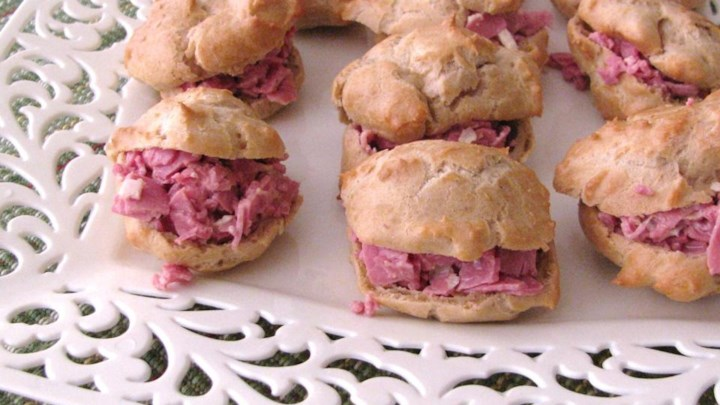 Party Corned Beef Puffs