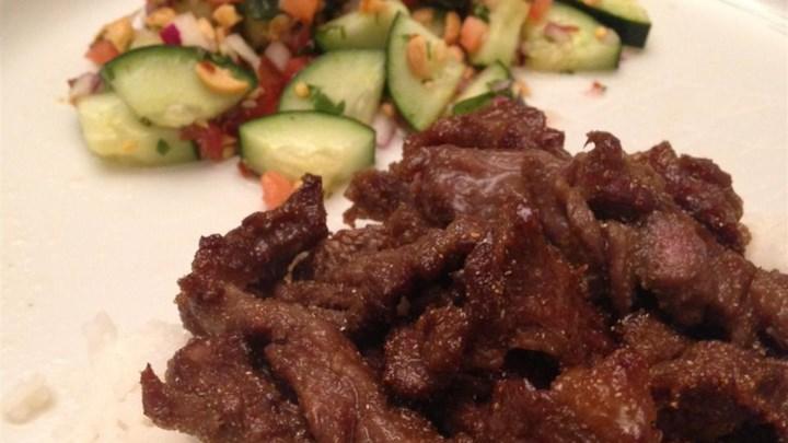 Asian Cucumber Thai Salad