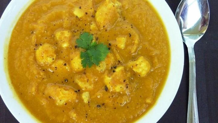 Curried Cream of Cauliflower Soup Recipe - Allrecipes.com