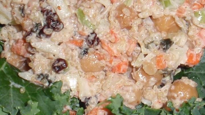Chickpea Quinoa Mock Tuna Salad