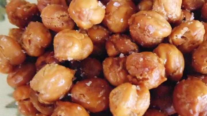 Easy Roasted Chickpeas