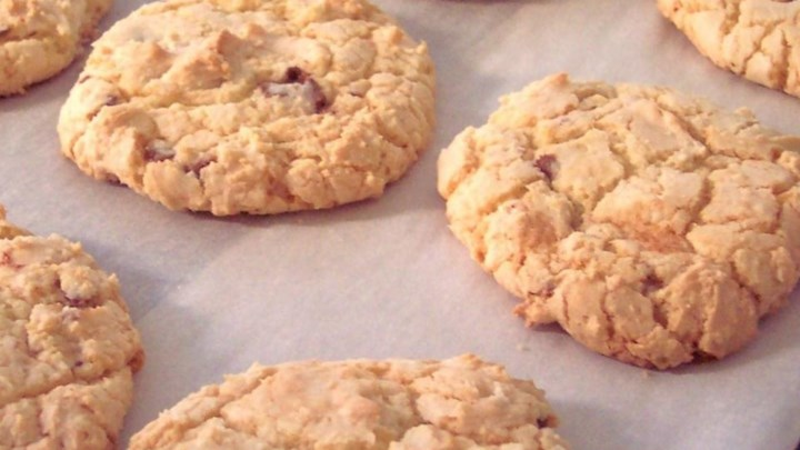 Light and Chewy Cake Cookies