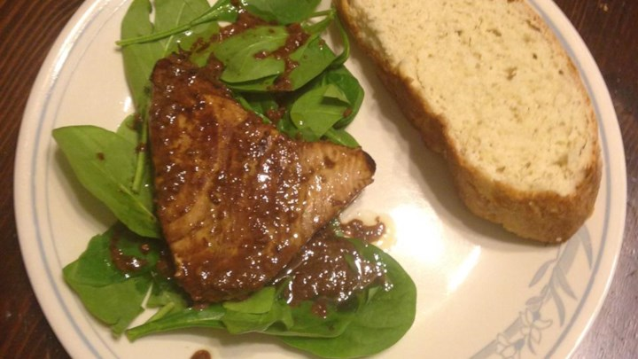 Savory Pan-Seared Tuna Steaks
