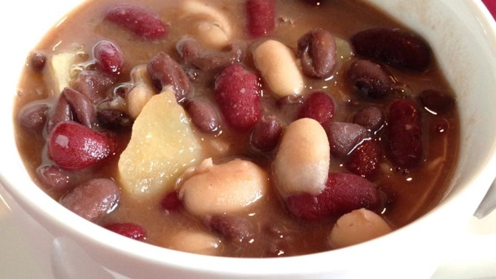 Spicy Three Bean Soup