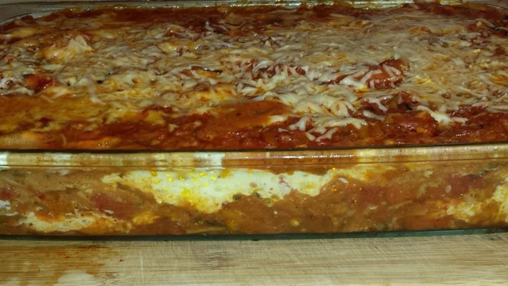 Spicy Vegetarian Lasagna