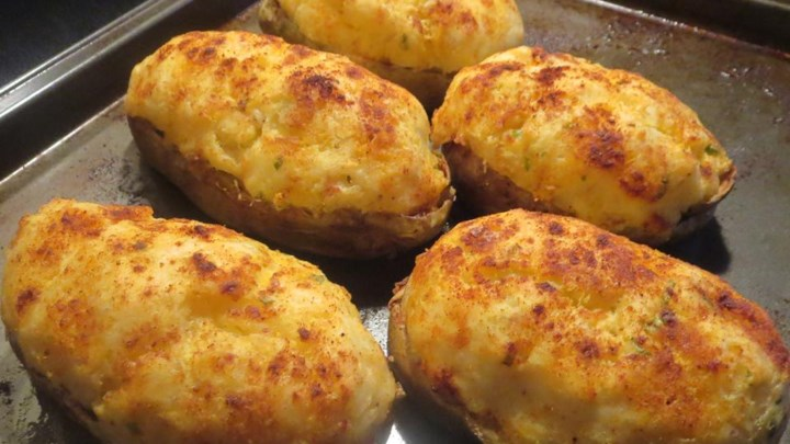 Chef John's Twice-Baked Potatoes