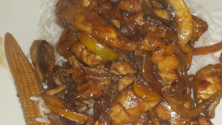 Teriyaki and Pineapple Chicken