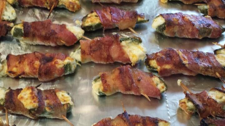 Baked Bacon Jalapeno Wraps