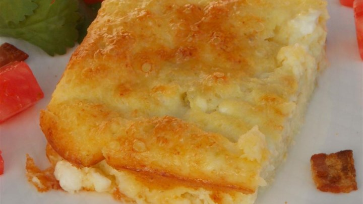 breakfast casserole with cottage cheese