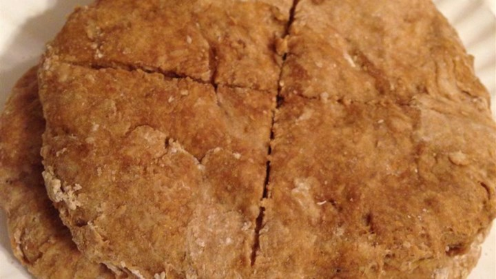 Whole Wheat Molasses Flat Bread