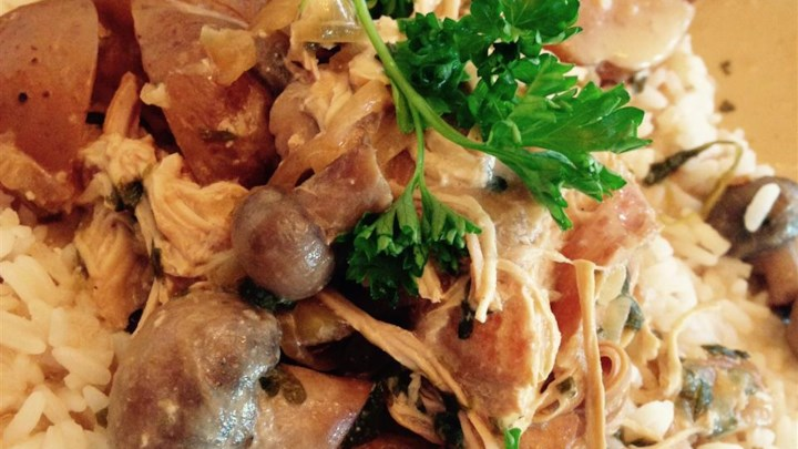 Slow Cooker Parsley Chicken