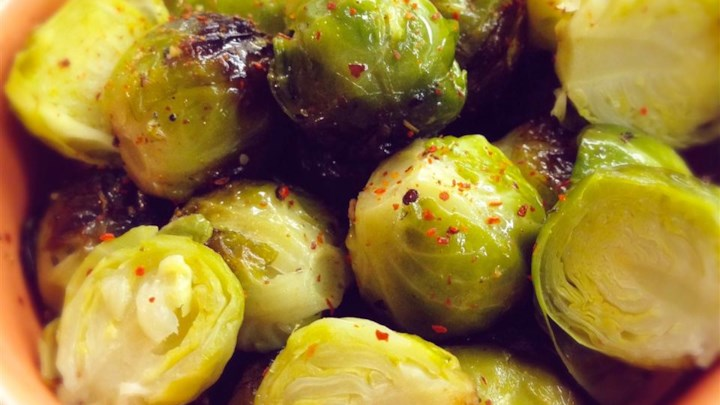 Easy Marinated Brussels Sprouts