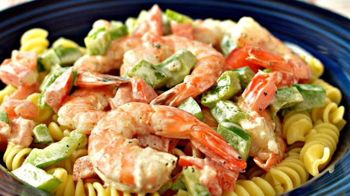 Simple Shrimp Pasta Salad