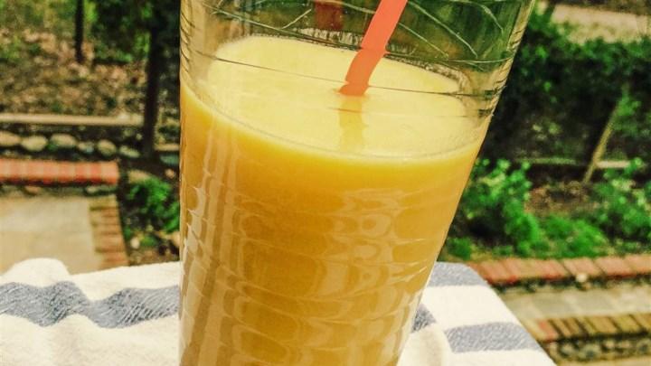 Yummy Mango Citrus Drink