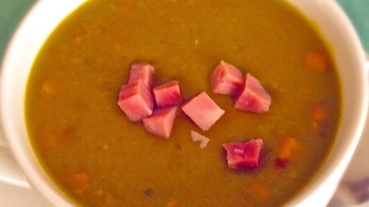 Split Pea Soup with Ham