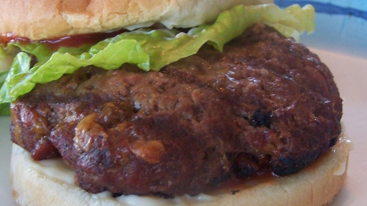 Cheddar Bacon Hamburgers