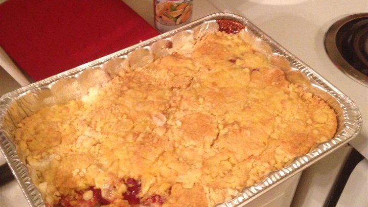Cherry Cream Cheese Dump Cake