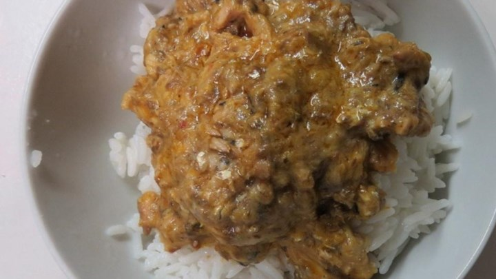 Quick Sardine Curry