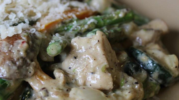 Mushroom Cream Sauce With Shallots