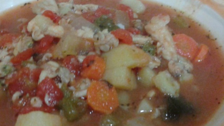Manhattan Clam Chowder II