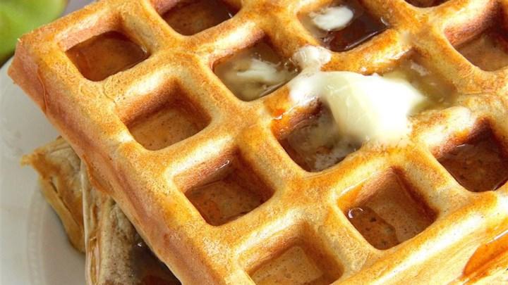 Jim's Apple Waffles