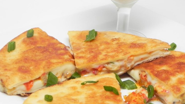 Crawfish Quesadillas