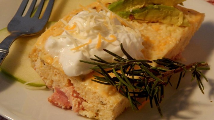 Holiday Rosemary and Ham Casserole