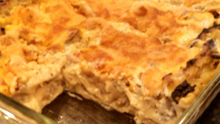 Aunty Pasto's Seafood Lasagna
