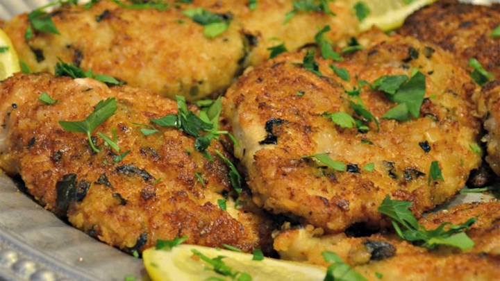Mediterranean Crusted Chicken