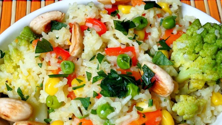 Indian-Style Vegetable Rice Recipe - Allrecipes.com