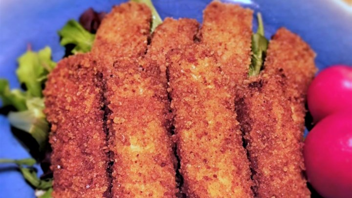Vegan Breaded Tofu