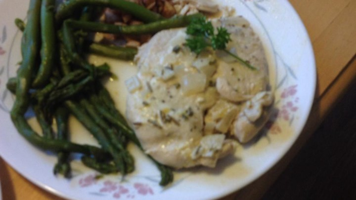Rich Herb and Lemon Chicken