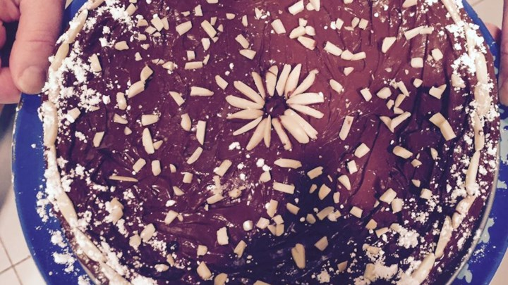 Passover Double Chocolate Almond Torte