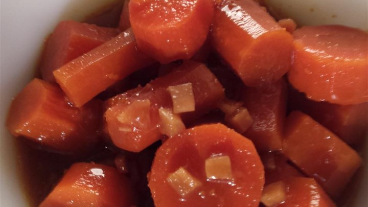 Slow Cooker Chinese Carrots