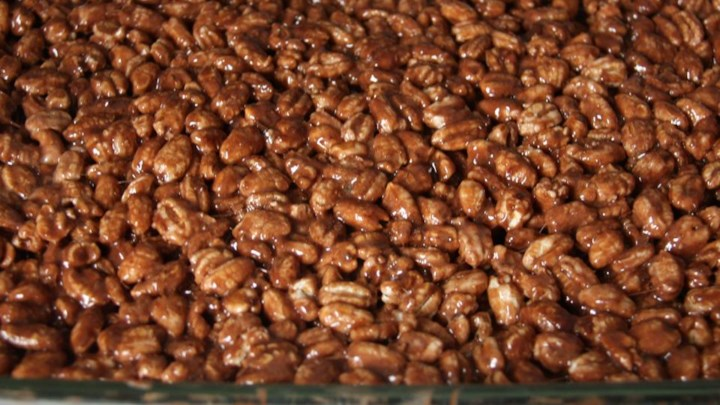 Puffed Wheat Cake Recipe
