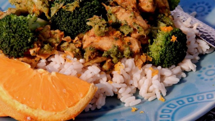 Orange Curry Chicken