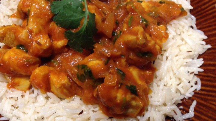 Easy Indian-Style Chicken
