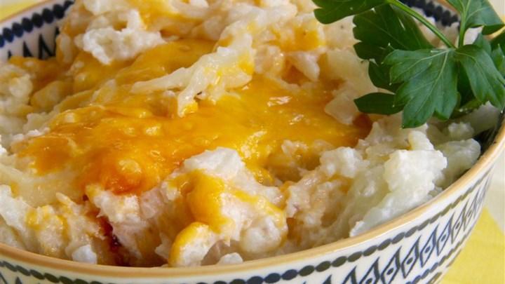Twice Baked Cauliflower Recipe - Allrecipes.com