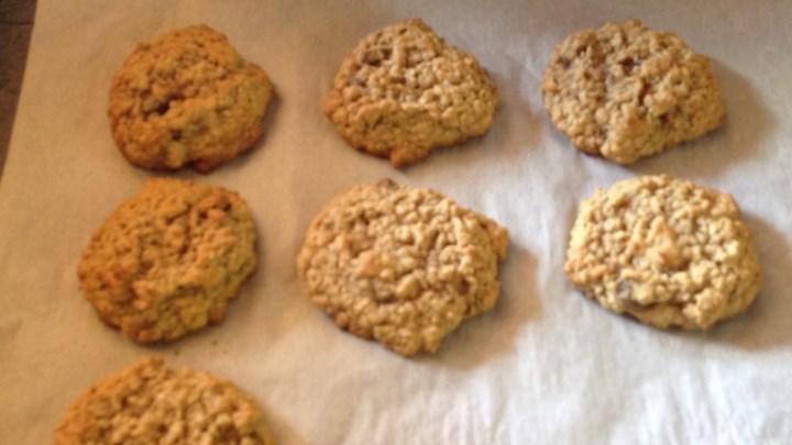 Oatmeal Banana Nut Cookies