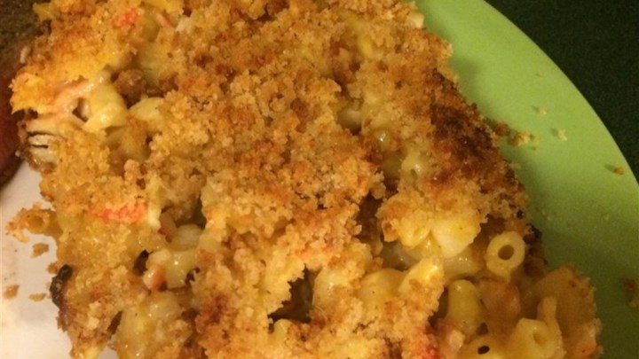 Lobster-Bacon Macaroni and Cheese