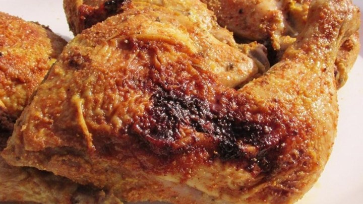Spice Roasted Chicken Quarters