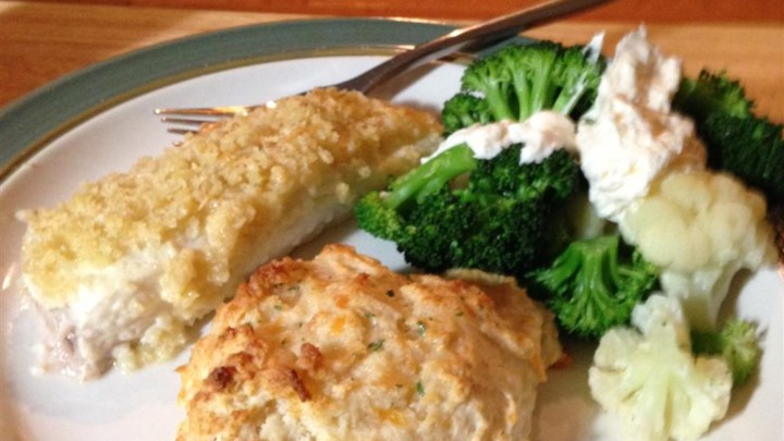 Dijon Crusted Halibut