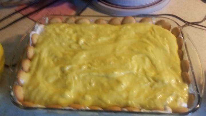 No Cook Banana Pudding Base