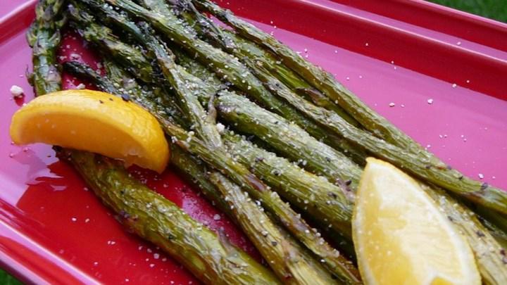 Roasted Parmesan Asparagus